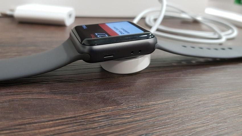 Apple watch 3 GPS, nabíjení