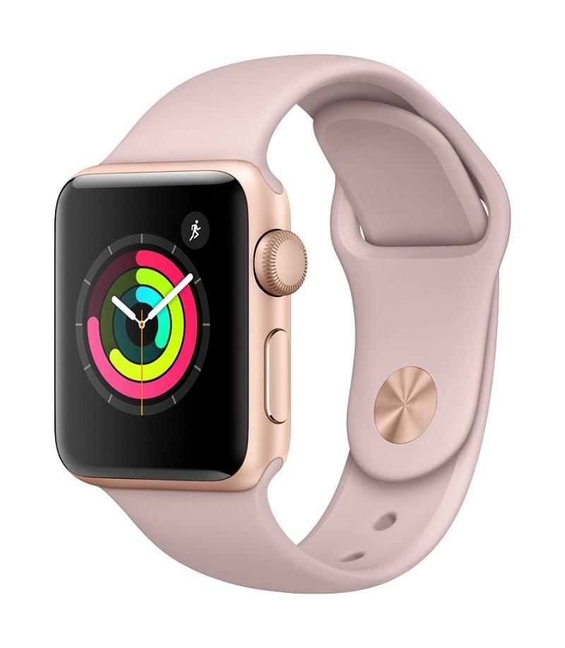 Apple Watch 3; růžová barva