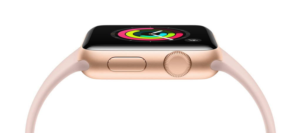 Apple Watch 3; chytré hodinky