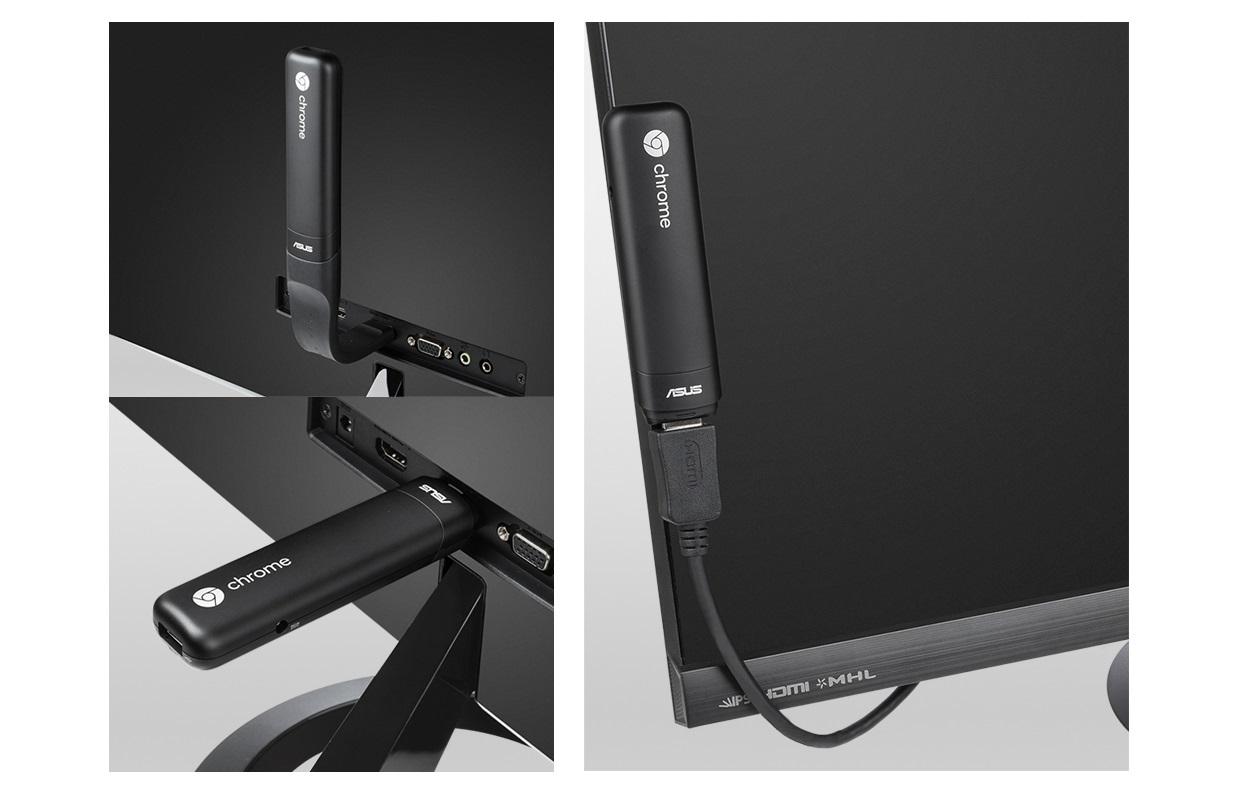 Asus Chromebit CS10 - prodlužovací kabel a flexibilní konektor Flex Connect HDMI
