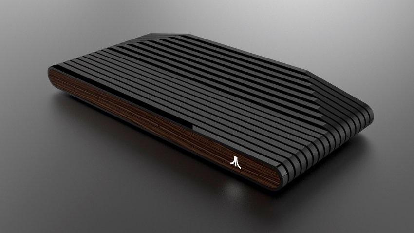 Prototyp Atari VCS s dřevěným čelem