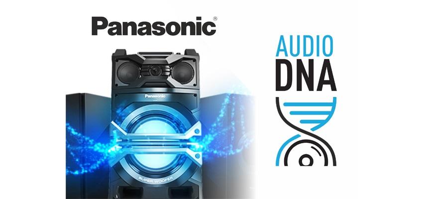 Objevte svou Audio DNA s Panasonic