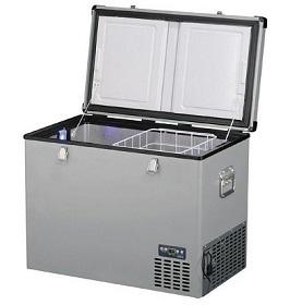 Ukázka kompresorové autochladničky