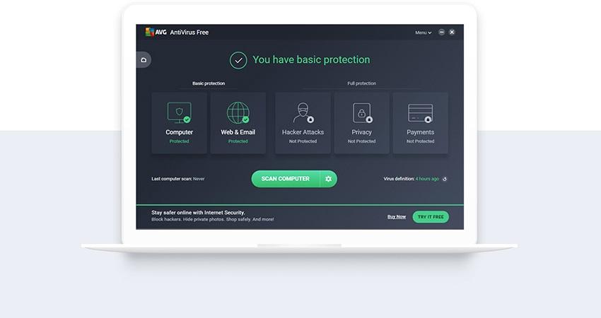 AVG, antivirový program, AVG Anti-Virus FREE