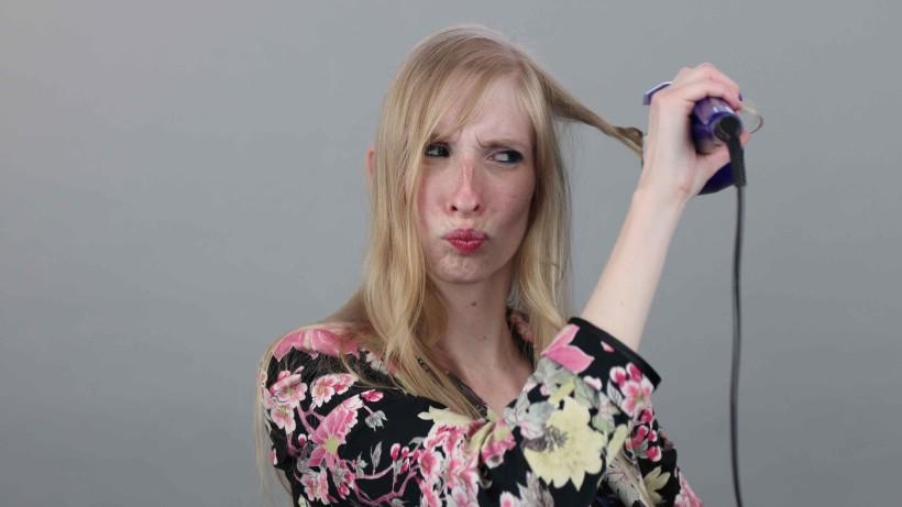 Loknovací kulma BaByliss Curl Secret - zacuchané vlasy