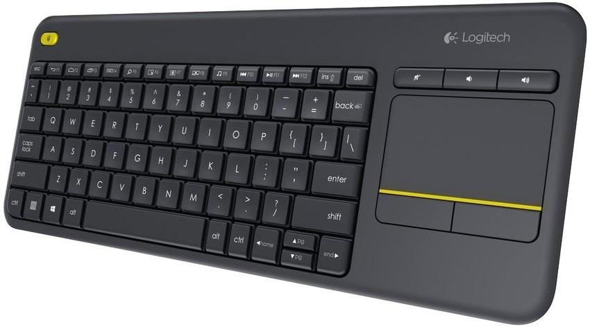 Bezdrátová klávesnice Logitech Wireless Touch K400 Plus