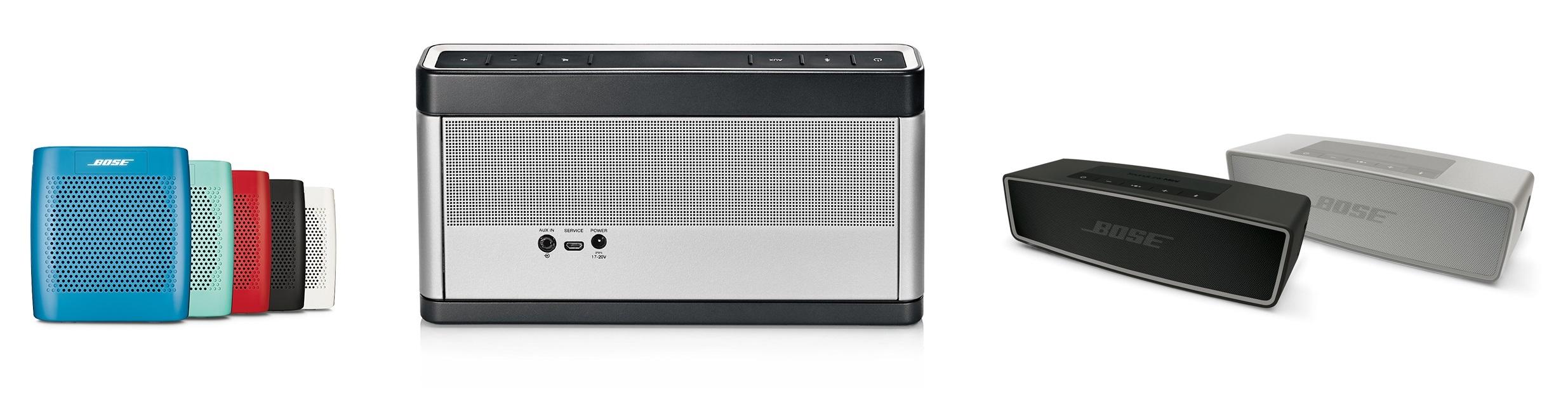 BOSE SoundLink Mini II, Colour, Bluetooth III - bezdrátové reproduktory