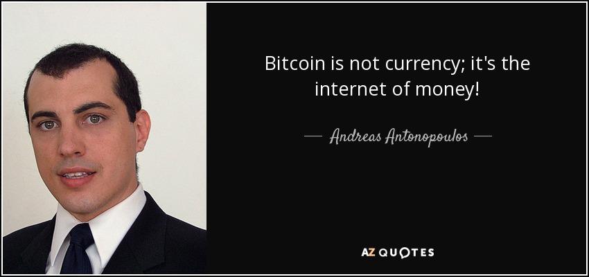 bitcoin, výrok