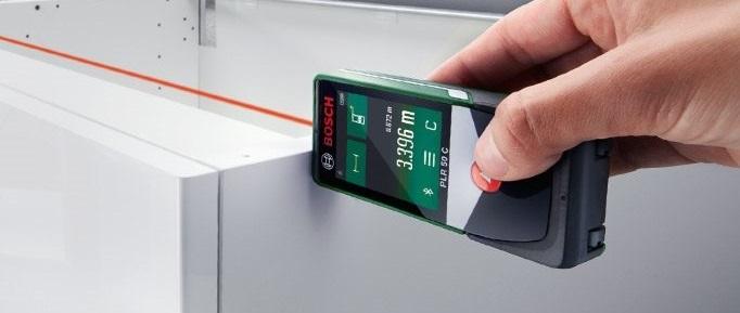 BOSCH PLR 50 C - digitální laserový dálkoměr