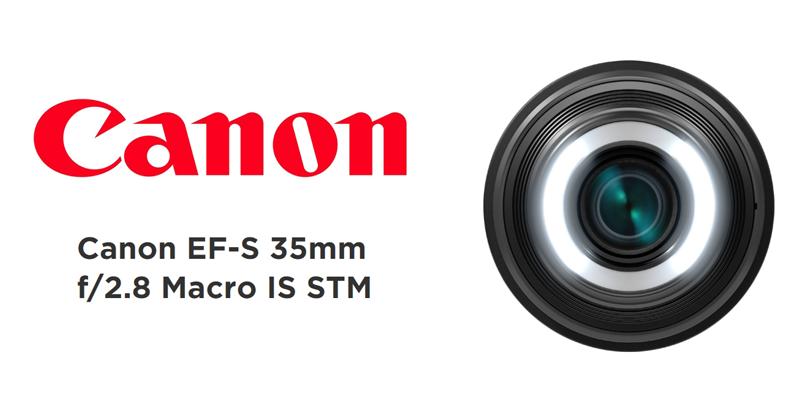 Recenze objektivu Canon EF-S 35mm f/2,8 Macro IS STM