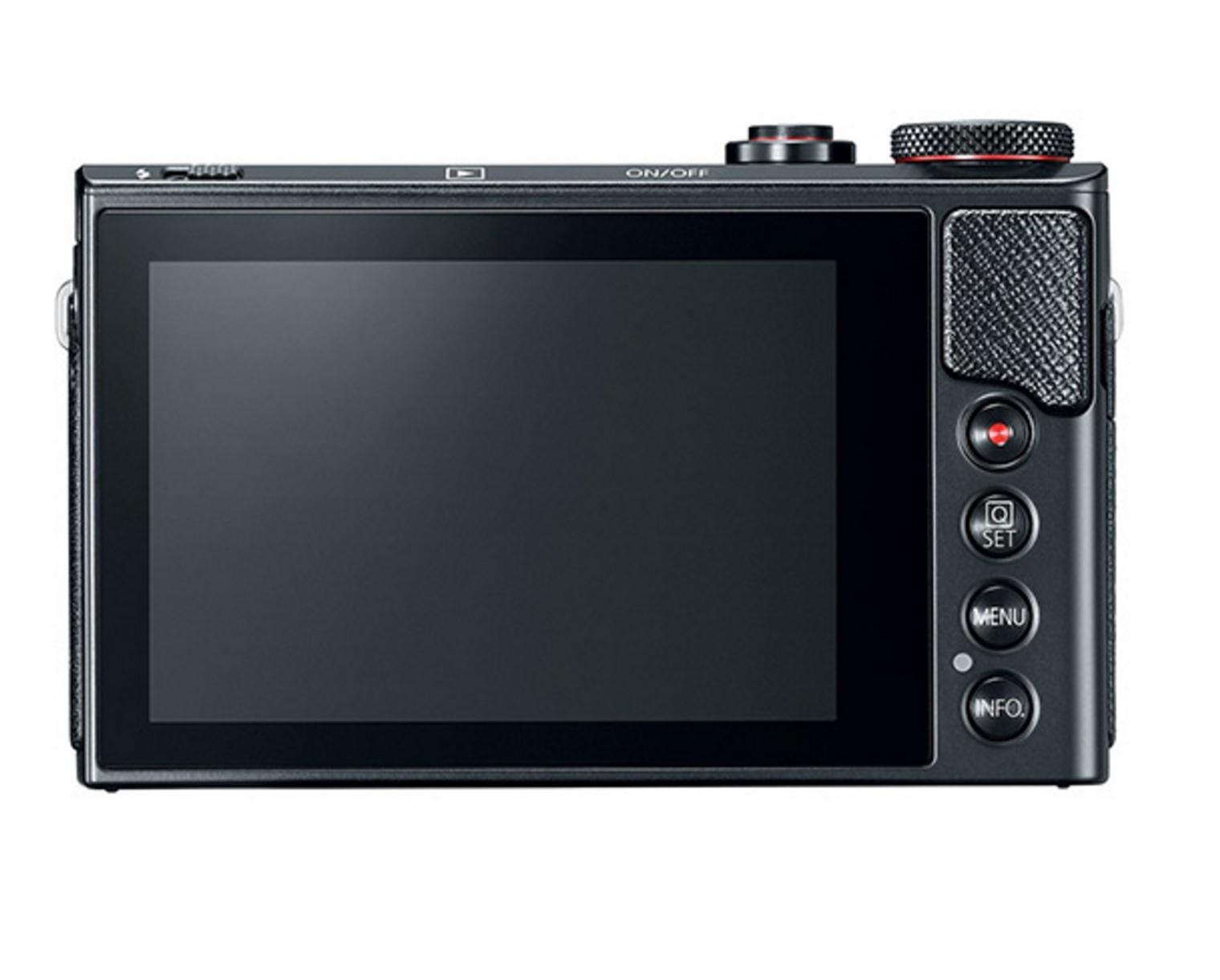 Canon PowerShot G9 X Mark II; černý