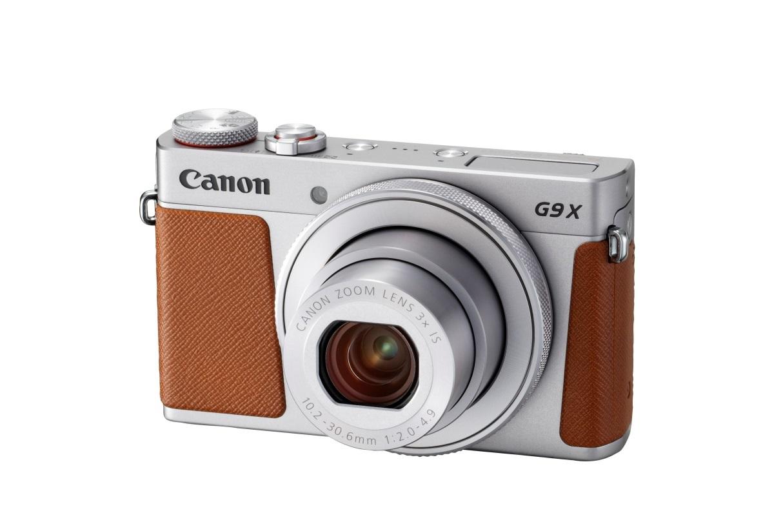 Canon PowerShot G9 X Mark II; stříbrný