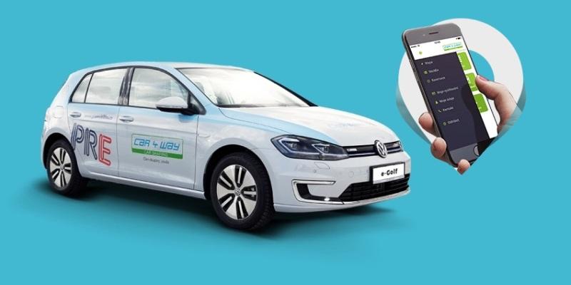 Car4Way – carsharing elektromobilů v Praze