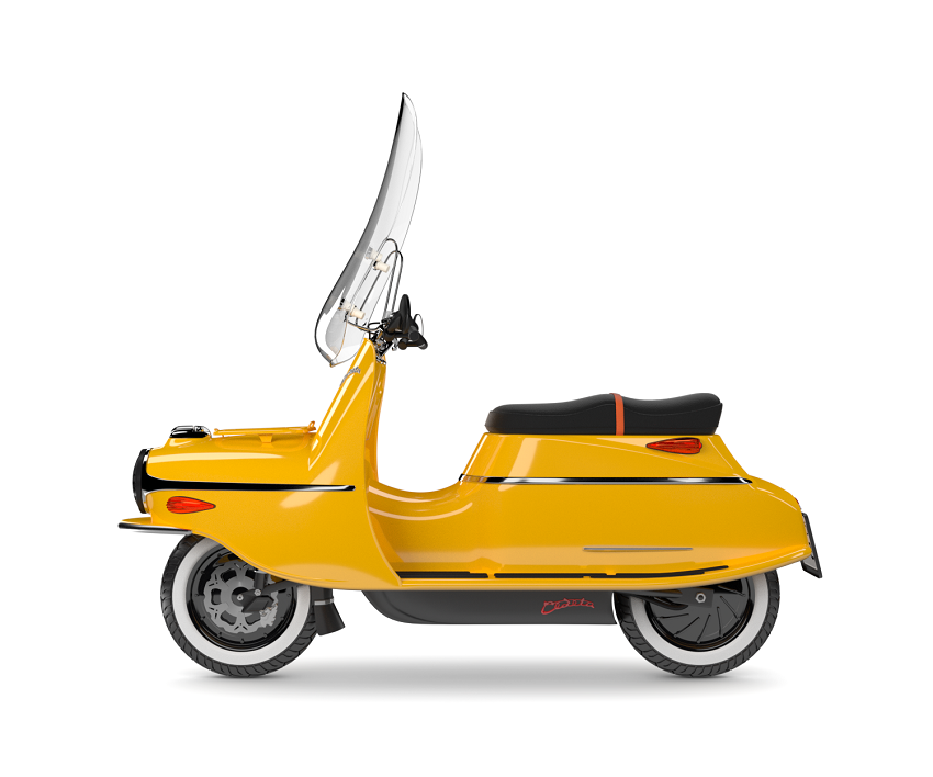 Čezeta Typ 506, žlutá