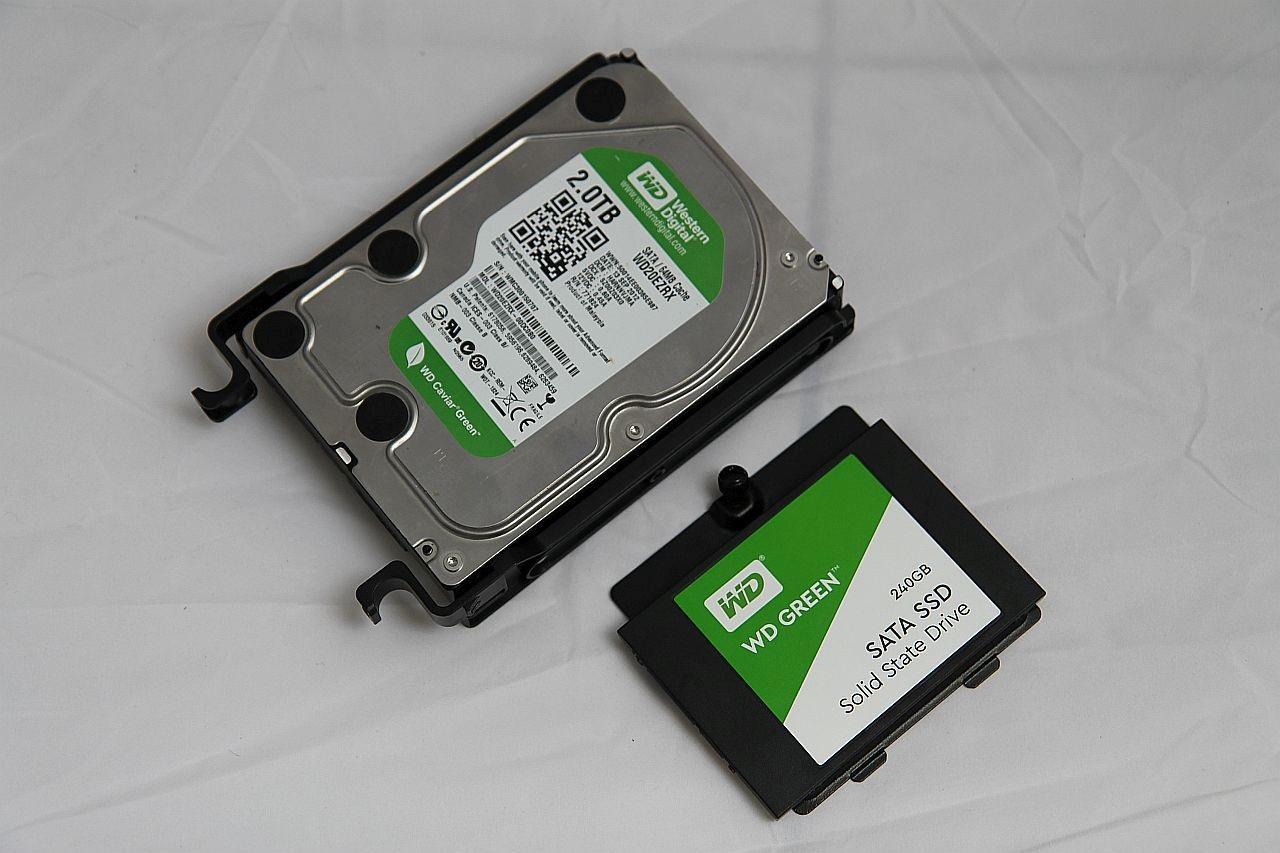 Cooler Master Masterbox MB500, recenze, PC skříň, HDD
