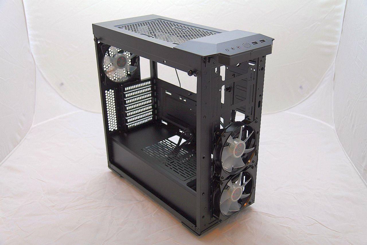 Cooler Master Masterbox MB500, recenze, PC skříň