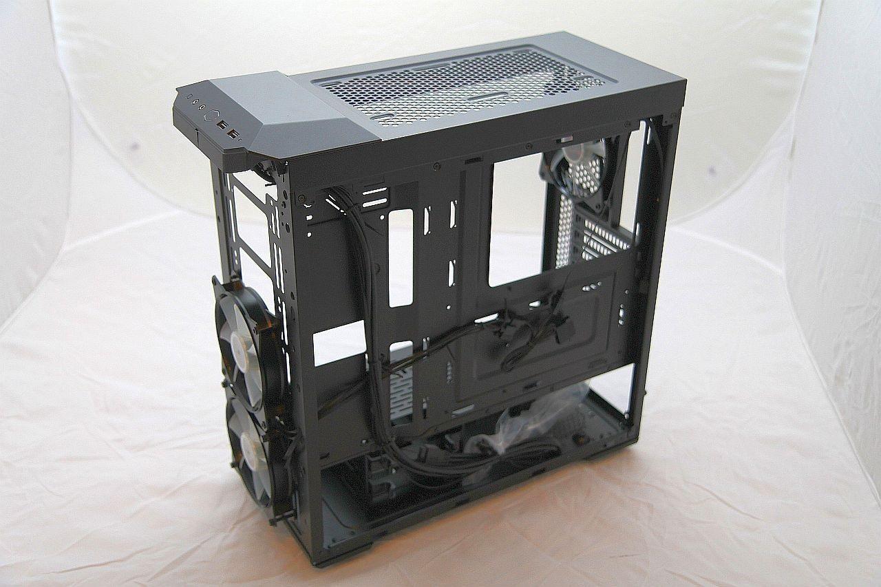 Cooler Master Masterbox MB500, recenze, PC skříň, panel