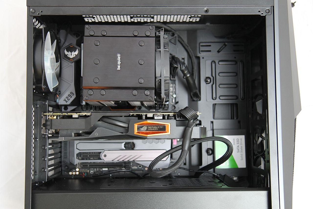 Cooler Master Masterbox MB500, recenze, PC skříň, sestava