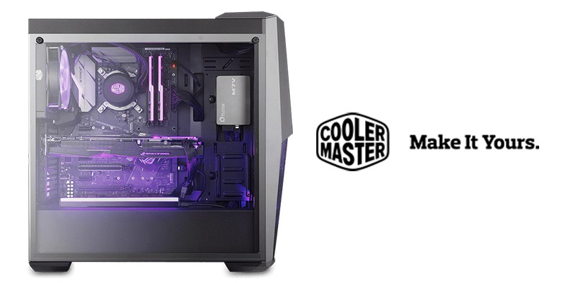 Cooler Master Masterbox MB500 (RECENZE) – dostupná PC skříň pro hráče