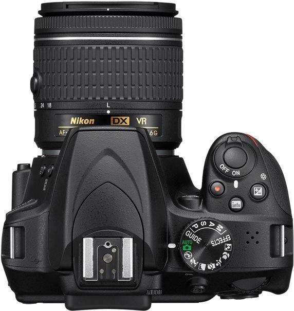Nikon D3400 černý; AF-P DX Nikkor 18–55mm f/3,5–5,6 G VR
