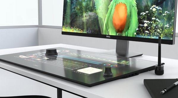 Dell Canvas; chytrá pracovní plocha