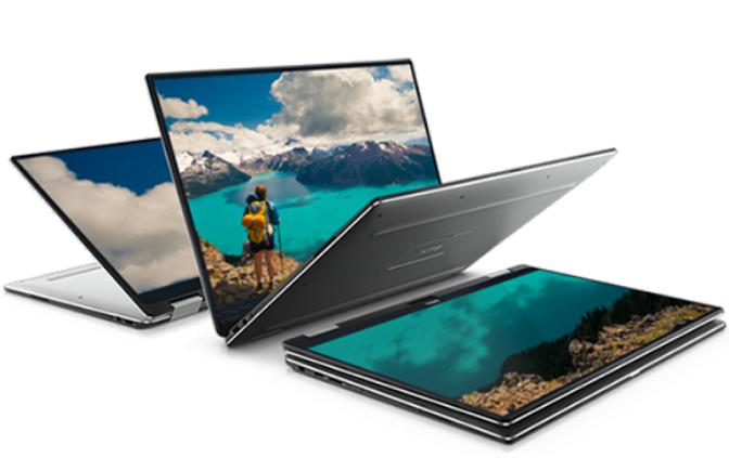Dell XPS 13, konvertibilní notebook