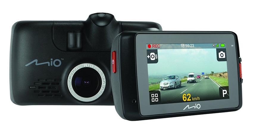 duální autokamery; parkování; mio