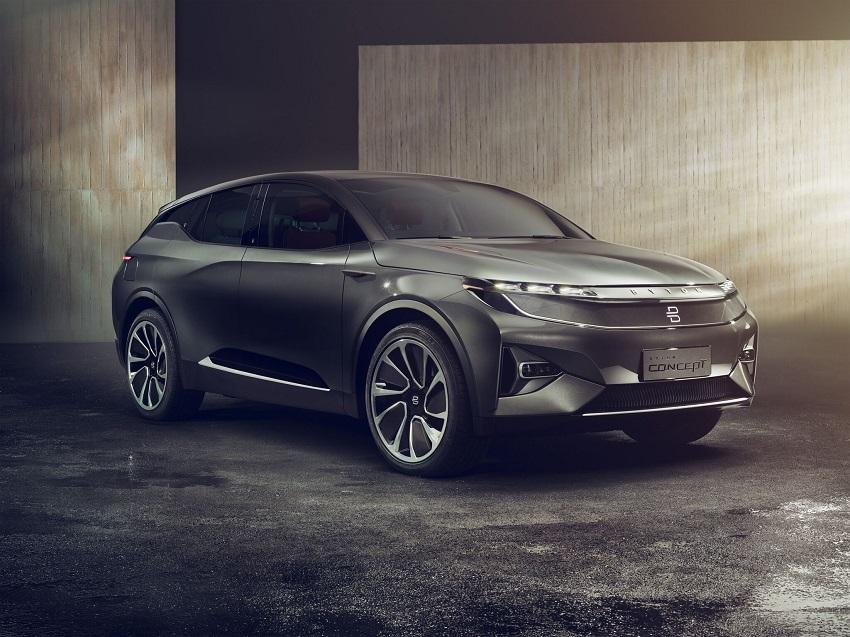 Byton; Elektromobil; CES 2018