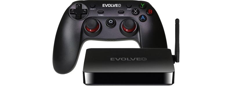 Multimediální centrum Evolveo s GamePadem zdarma