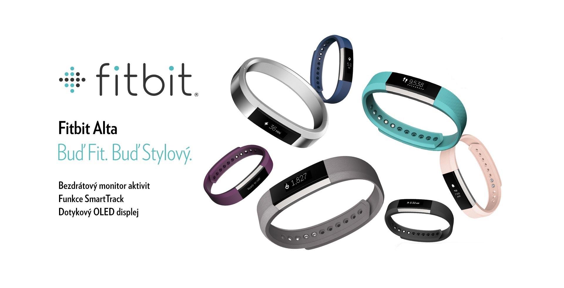 Fitbit Alta - povedený fitness náramek