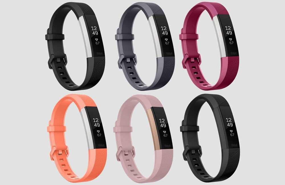 Fitbit Alta HR, barevné varianty