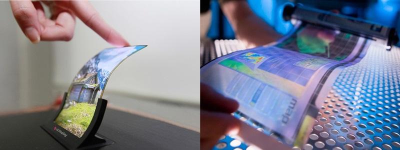 Flexibilní OLED displej od LG