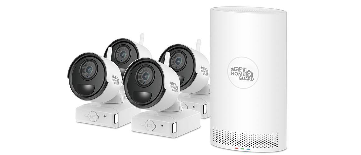 kamerový set; bezpečnost; iGET HGNVK68004; bezpečnostní kamera