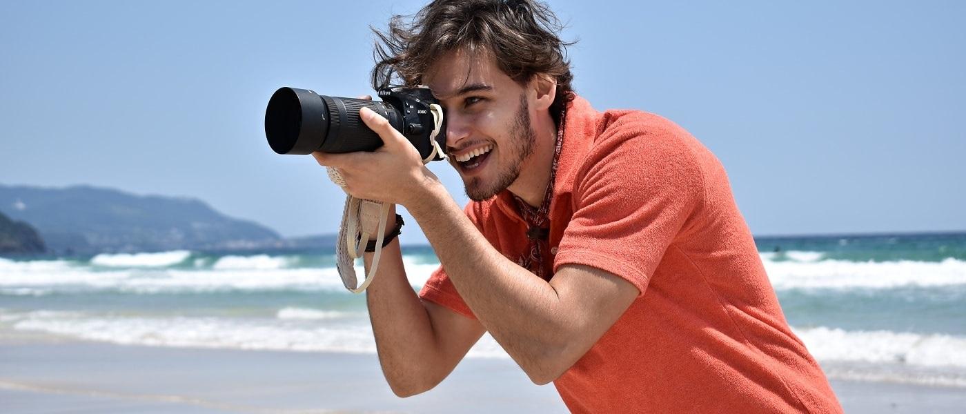 Fotoaparát k moři a jeho ochrana