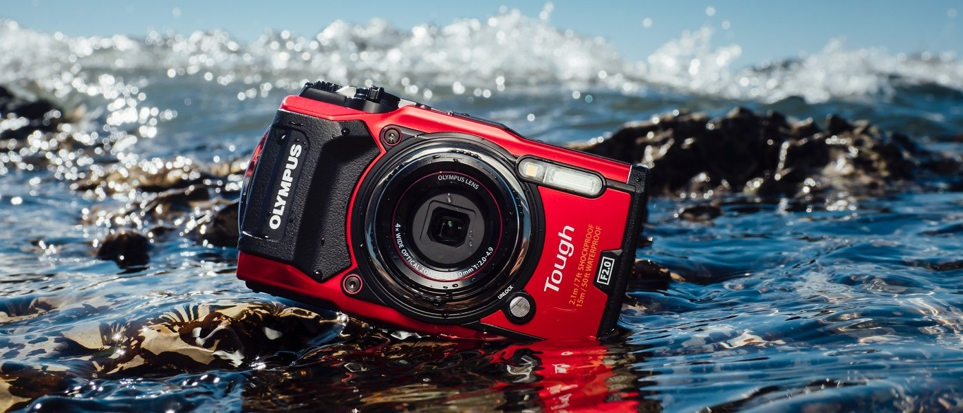 Ootdoorový voděodolný fotoaparát na dovolenou vodotěsný