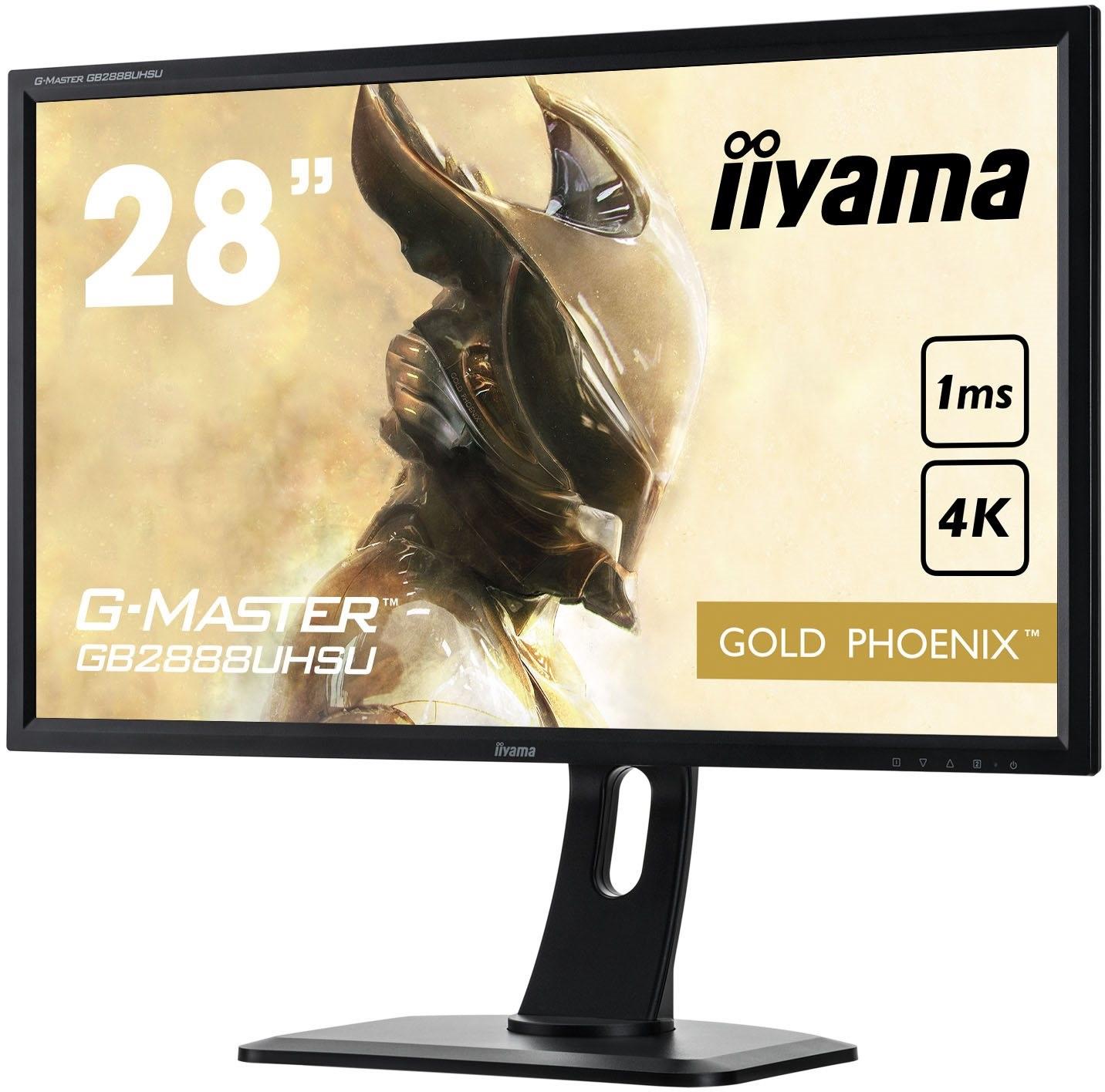 G-MASTER Gold, 4K herní monitor; iiyama; Gold Phoenix