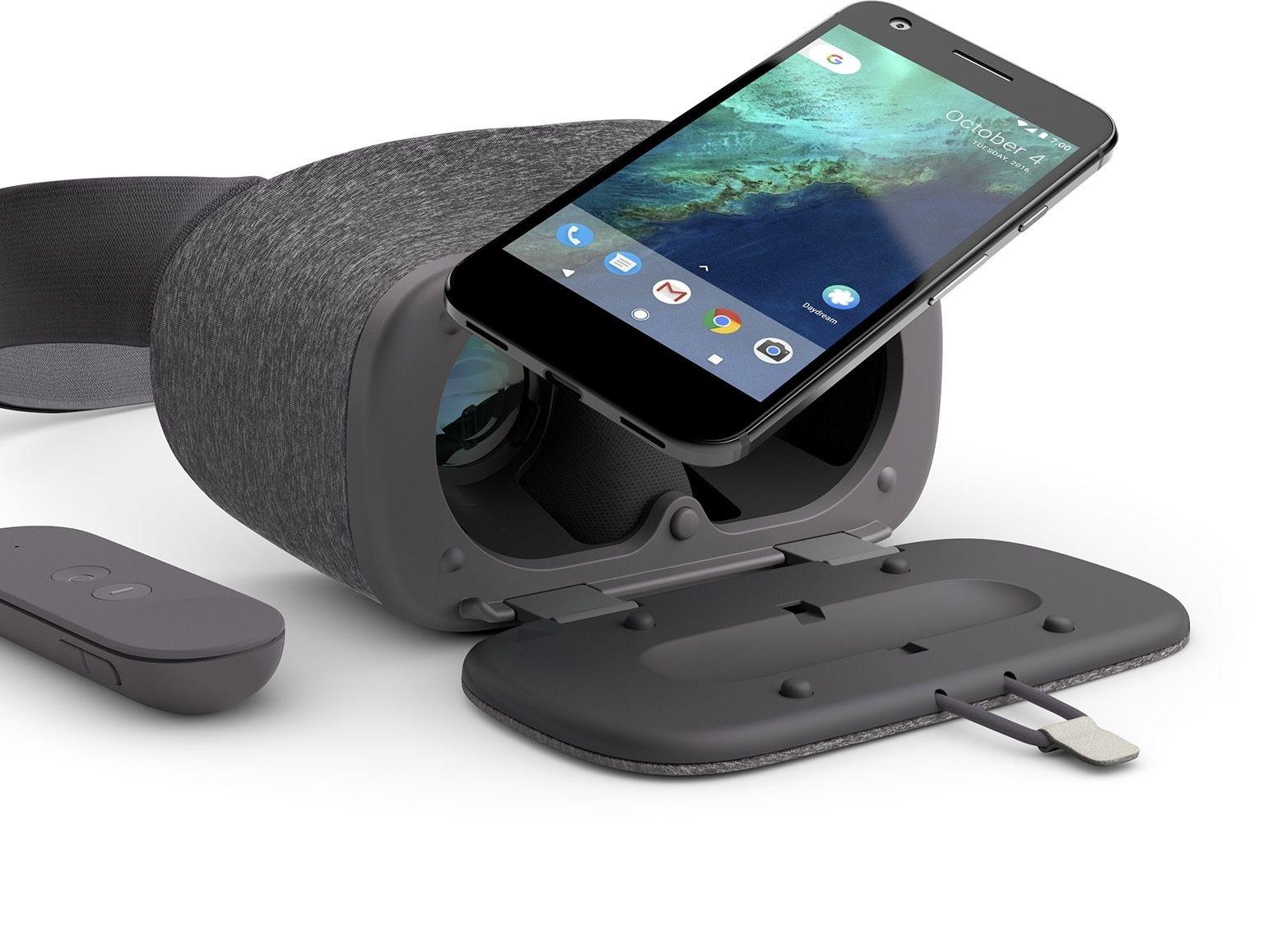 VR set pro telefony Google Daydream