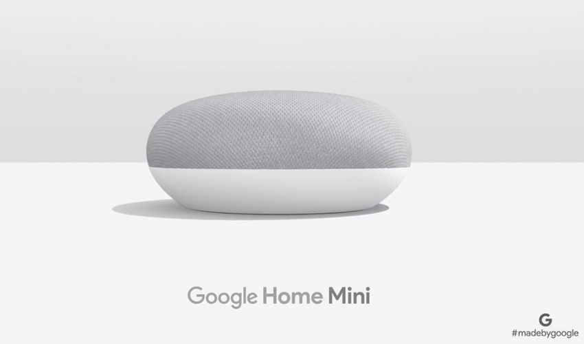 google home mini, made by google