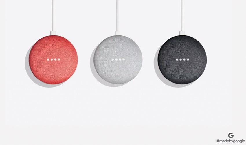 google home mini barevné varianty