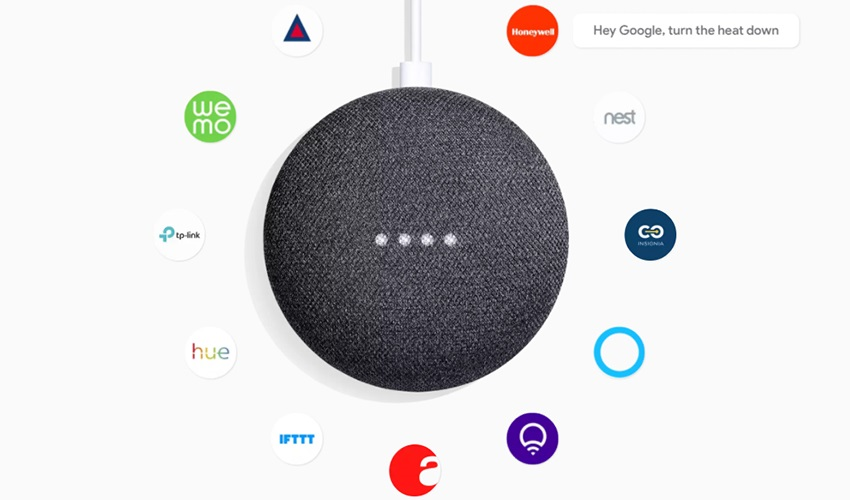 google home mini; chytrá domácnost