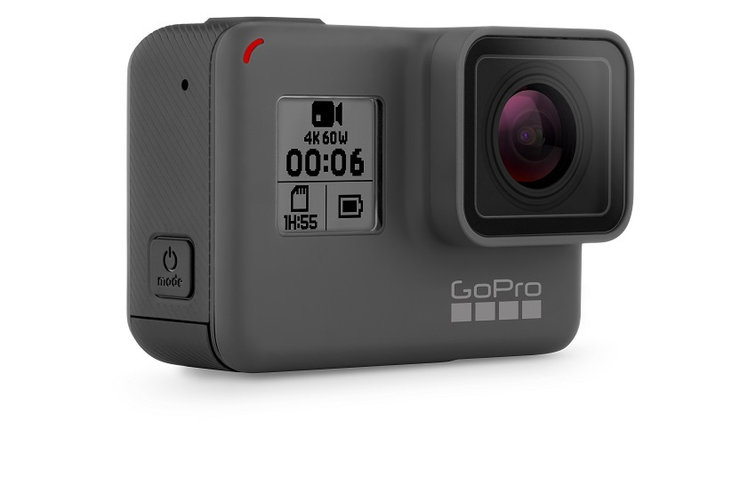 GoPro HERO6 Black; odolná kamera