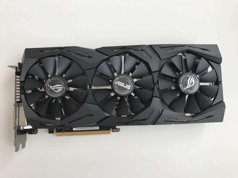 GPU ASUS STRIX GTX 1080 ADVANCED EDITION 8G