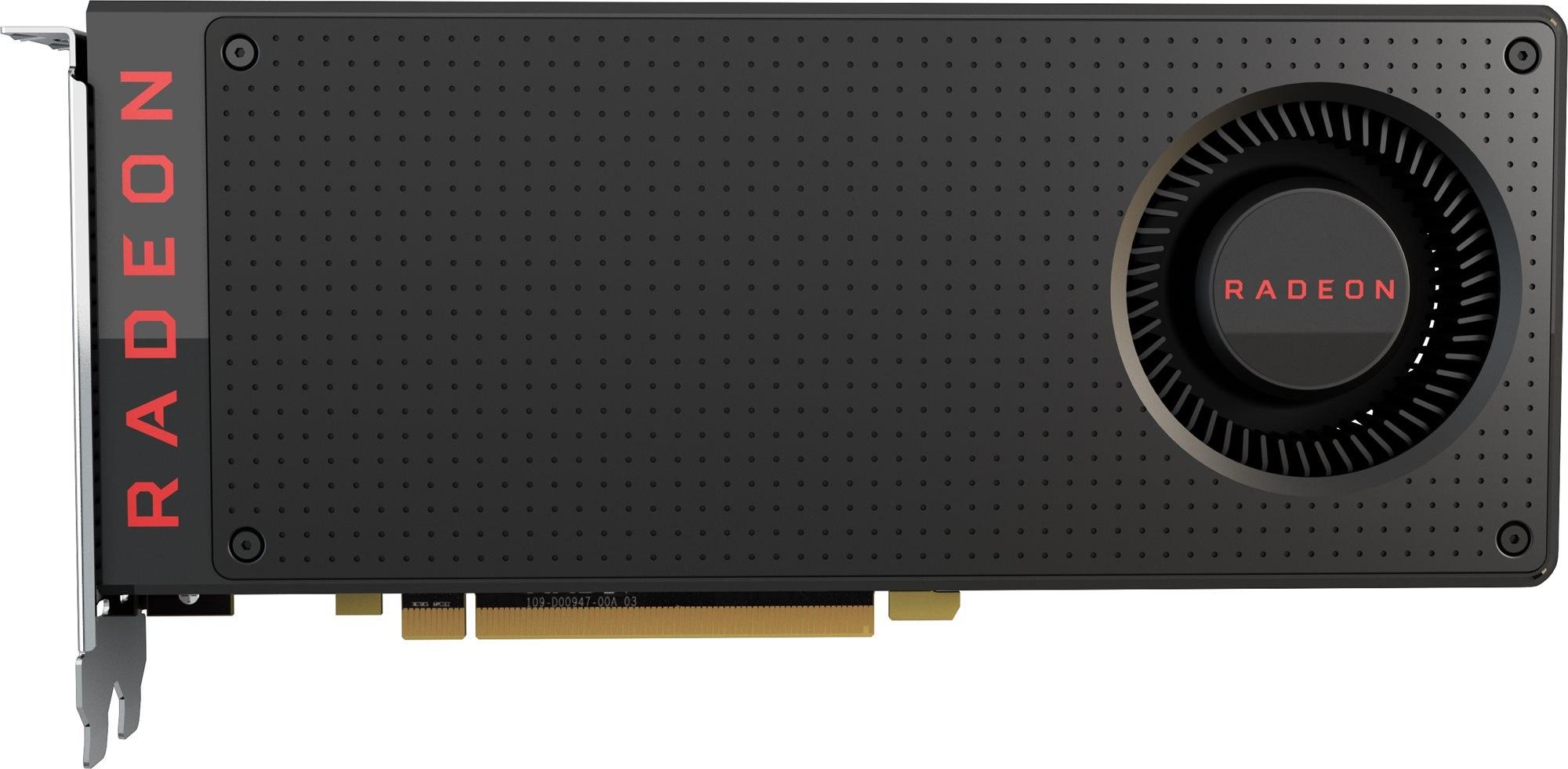 AMD představilo novou grafickou kartu Radeon RX 480