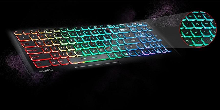 Steelseries klávesnice - notebooky MSI Dominator Pro