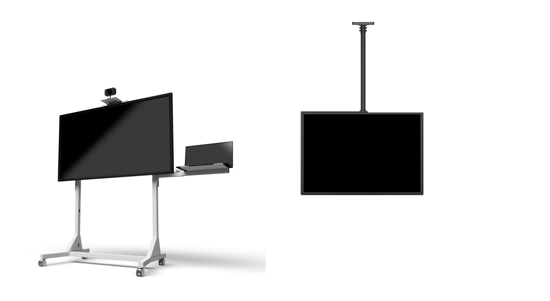 Lepší výhled na televizor či monitor s držáky Multibrackets