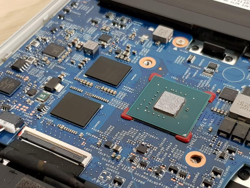 HP Envy 15 – CPU