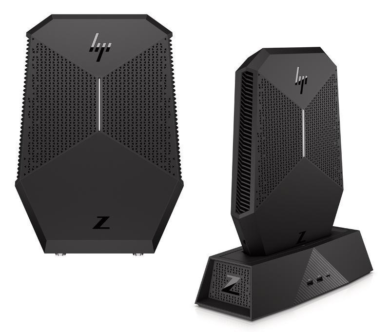 HP Z VR Backpack, dokovací stanice, počítač