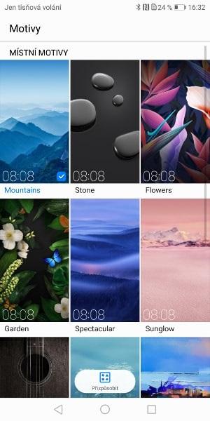 Huawei Mate 10 Pro, screenshot, schémata