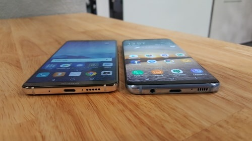 Huawei Mate 10 Pro vs Samsung Galaxy S8 Plus