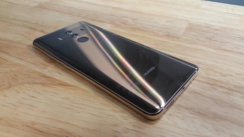 Recenze Huawei Mate 10 Pro, zadní strana
